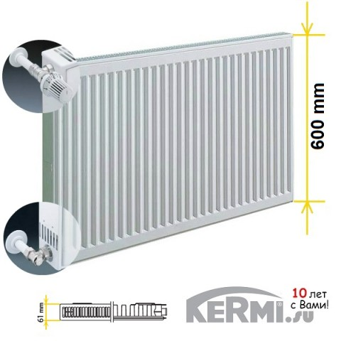 Радиатор Kermi FKO 11 600