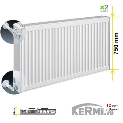 Радиатор Kermi FKO 12 750
