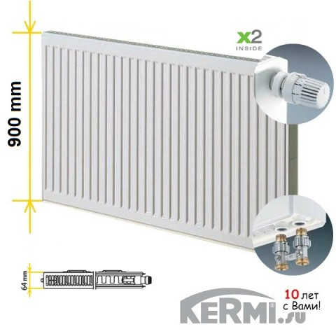 Радиатор Kermi FTV 12 900