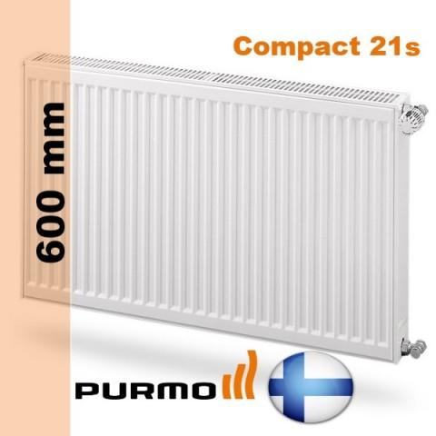 Радиатор Purmo Compact 21s 600