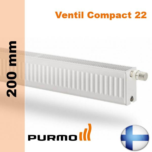 purmo ventil compact cv22 200. Black Bedroom Furniture Sets. Home Design Ideas
