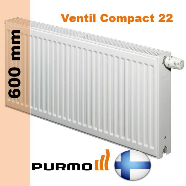 purmo ventil compact cv22 600. Black Bedroom Furniture Sets. Home Design Ideas