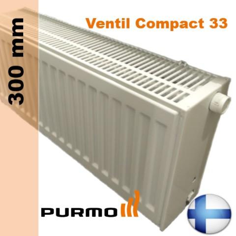 Радиатор Purmo Ventil Compact 33 300