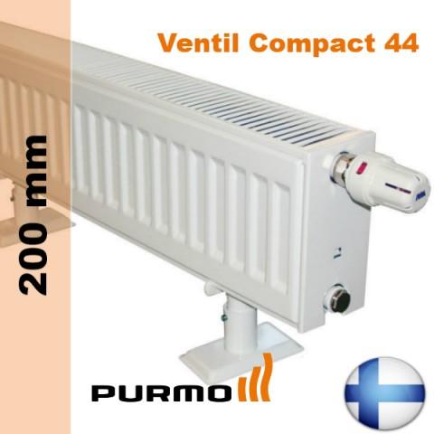 purmo ventil compact cv44 200. Black Bedroom Furniture Sets. Home Design Ideas