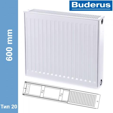 Радиатор Buderus Logatrend K-Profil 20 600