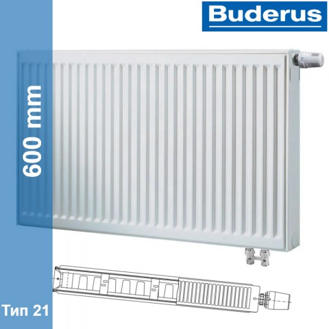 Радиатор Buderus Logatrend VK-Profil 21 600