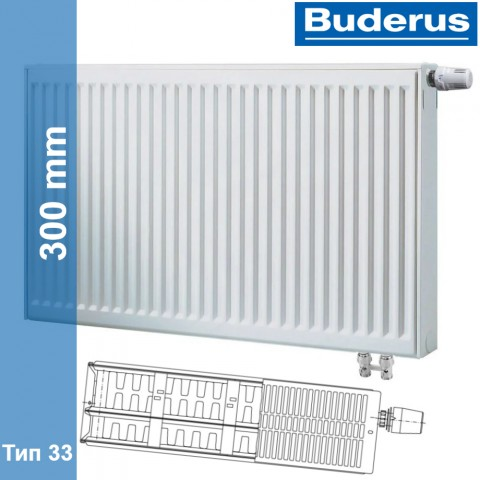 Радиатор Buderus Logatrend VK-Profil 33 300