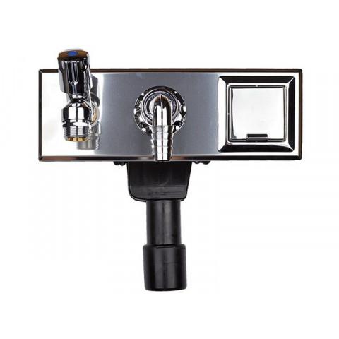 Сифон HL (Hutterer Lechner) 406E встроенный ля стиральной или посудомоечной машины DN 40/50