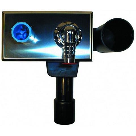 Сифон HL (Hutterer Lechner) 405E встроенный для стиральной или посудомоечной машины DN 40/50