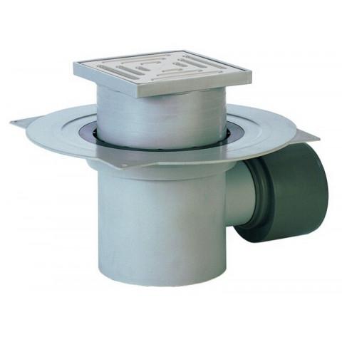 Трап HL (Hutterer Lechner) 72.1 с решеткой из РР, сеткой для мусора, гидрозатвором