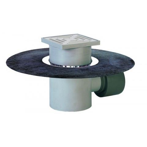 Трап HL (Hutterer Lechner) 72.1H с решеткой из РР, сеткой для мусора, битумным полотном