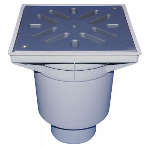 Дворовый трап HL (Hutterer Lechner) 606L решетка из ПП, нагрузка до 1,5 тонн