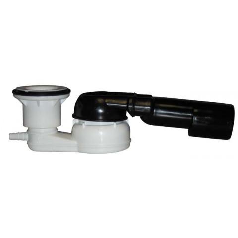 Сифон HL (Hutterer Lechner) 514/SNV.0 с поворотным шарниром для душевого поддона HL 514/SNV без крышки