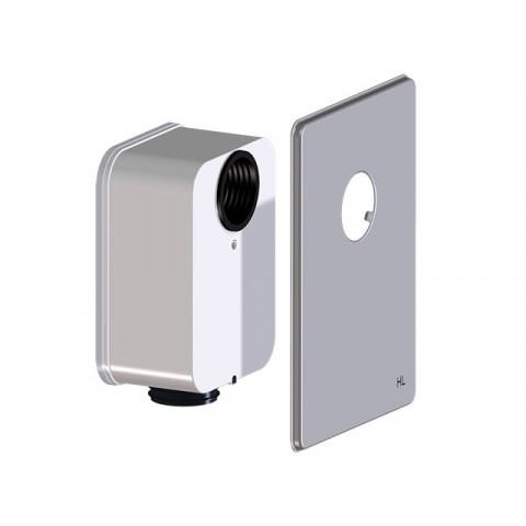 Сифонный блок HL (Hutterer Lechner) 4000.3 к сифону HL4000.0 для присоединения умывальника
