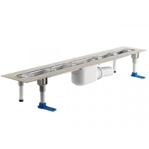 Корпус плоского душевого лотка HL (Hutterer Lechner) 50F.0 для линейного отведения воды