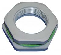 Резьбовой переходник HL (Hutterer Lechner) 801R/M50-25 с резьбой М50 на M25 для кабельного ввода HL801V/8-14 и HL801V/11-18