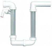 Сифон HL (Hutterer Lechner) 136.2 для кондиционеров с высотой водяного затвора 140-320 мм