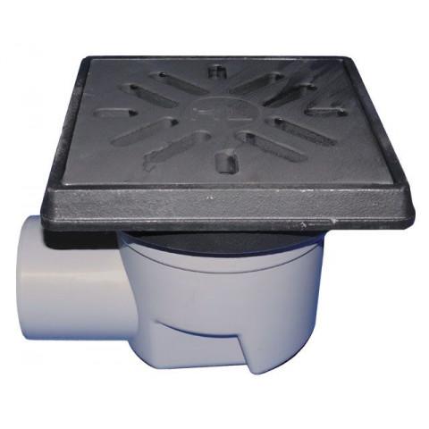 Дворовый трап HL (Hutterer Lechner) 605.1 чугунная решетка, нагрузка до 12,5 тонн