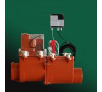 Канализационный затвор HL (Hutterer Lechner) 712.2EPC с электроприводом, подключение сигнализации, контроллера DN 125