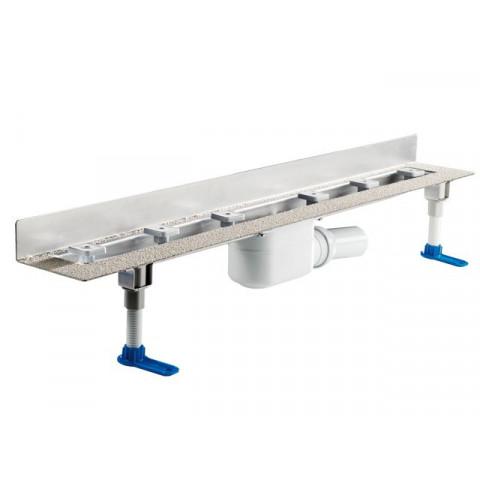 Корпус углового душевого лотка HL (Hutterer Lechner) 50W.0 (пристенная установка) для линейного отведения воды