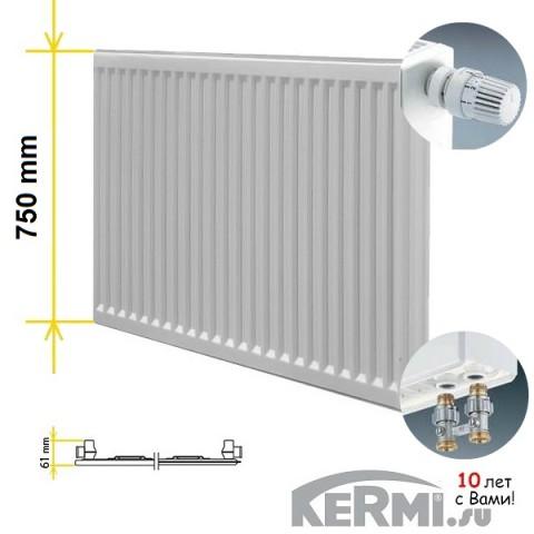 Радиатор Kermi FTV 10 750