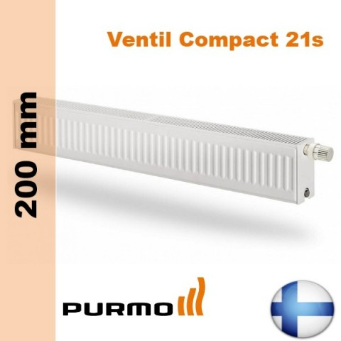 Радиатор Purmo Ventil Compact 21s 200