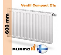 Радиатор Purmo Ventil Compact 21s 600