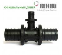 Тройник Rehau Rautitan 32-16-32 PX с уменьш боковым проходом 11600641001