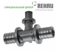 Тройник Rehau Rautitan 40-25-40 PX с уменьш боковым проходом 11600681001