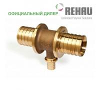 Тройник Rehau Rautitan 63-25-63 RX с уменьш боковым проходом 13660081001